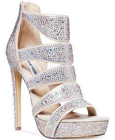 402ad669742 Steve Madden heels wedding shoes Sexy Sandals