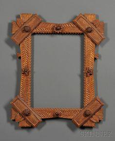 Chip-carved Frame