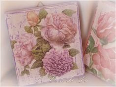 Le cose di Lu: Quadri in decoupage