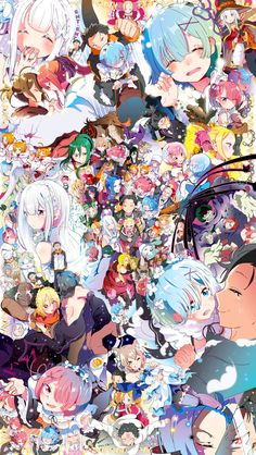Re:Zero Kara Hajimeru Isekai Seikatsu (Re:zero − Starting Life In Another World) Image - Zerochan Anime Image Board Kawaii Anime Girl, Anime Art Girl, Otaku Anime, Manga Anime, Re Zero Wallpaper, Animes Wallpapers, Light Novel, Totoro, Anime Style