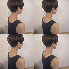 How to style the Pixie cut? Despite what we think of short cuts , it is possible to play with his hair and to style his Pixie cut as he pleases. Asian Short Hair, Girl Short Hair, Short Hair Cuts, Short Bob Haircuts, Short Hairstyles For Women, Short Pixie, Pixie Cut, Very Short Bangs, Medium Hair Styles