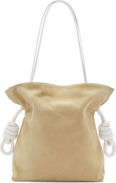 LOEWE suede bucket bag  #LOEWE #BucketBag
