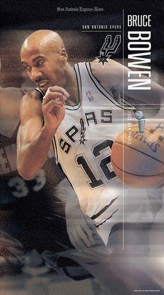Bruce Bowen, San Antonio Spurs, Nba