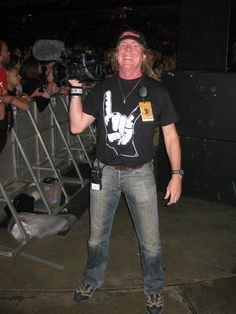 Brother Andy Mathews R.I.P wearing our Horns T-shirt