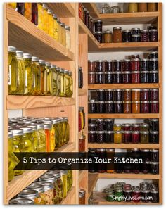 5 Tips to Organize Your Kitchen - let's get ready for some spring cleaning!