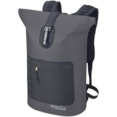 the BF just got this super tech-y modern backpack and I'm jealous! Seal Line.