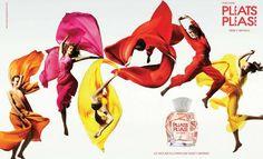 Pleats Please, perfume que contagia alegría