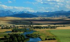 The Madison River near Three Forks Montana...floated in 2004 with dewayne and all three kids. Unforgettable.