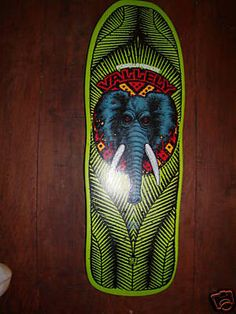 Mike Vallely's first deck on Powell. Green was best!