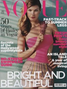British Vogue June 2010 Cover (British Vogue)