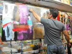 """▶ """"Long Time Coming"""" by Chicago Abstract artist Gino Savarino - YouTube"""