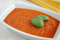 Neus cocinando con Thermomix: Salsa boloñesa