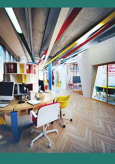 Project office for a business center, SkyLight, Moscow