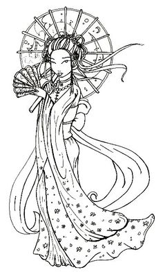Japanese Geisha Tattoo Designs Gallery 4
