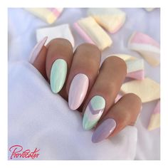 Easter Acrylic Nails which supremely stylish and fashionable - Hike n Dip - - Here are the best Easter Acrylic Nails for Browse through these Easter nail designs and make your stylish Easter nails spread charm & elegance. Cute Acrylic Nails, Acrylic Nail Designs, Cute Nails, Pretty Nails, Mint Nail Designs, Simple Nail Art Designs, Mint Nail Art, Mint Nails, Gel Nails