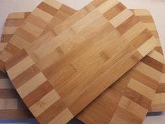 Relaxdays Design Schneidebretter Set mit Halter Bambus gestreift Halter, Butcher Block Cutting Board, Kitchen, Home, Bamboo, Contemporary Design, Hang In There, Nice Asses, Cucina