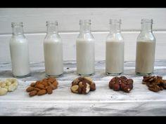 Tipos de leche vegetales y sus beneficios para la salud - YouTube