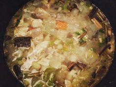 한국식으로 만든 닭고기 스프 Korean style chicken soup  www.mylanguageconnect.com