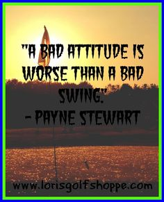 Couldn't agree more on this! So true! #golf #golfquotes #thoughtoftheday