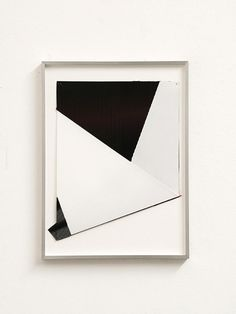 Untitled, 2013    Screentone and color sheets on folded paper    29.7 x 21 cm    Albert Weis on OMNIFORME