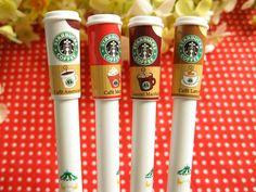 Starbuck Gel Ink Pen    WANT!!!!!!