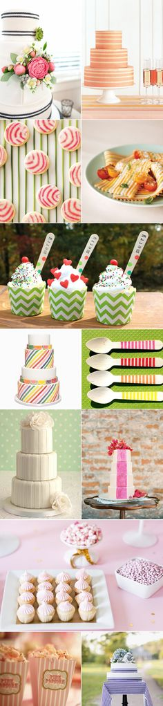 50 Stripe Wedding Inspirations