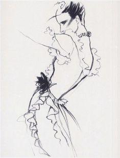 Antonio Lopez. fashion illustration, fashion, art, illustration, drawing, painting