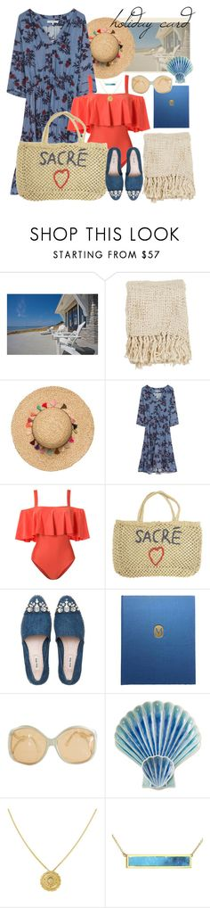 """holiday time"" by foundlostme ❤ liked on Polyvore featuring Pool to Party, Gérard Darel, ADRIANA DEGREAS, Miu Miu, Abrams, Diane Von Furstenberg, Juliska, Zoe & Morgan, Jennifer Meyer Jewelry and BeachPlease"