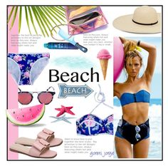 """""""Sun's Out: Beach Day -  Gamiss.com"""" by goreti ❤ liked on Polyvore featuring Cato and Bumble and bumble"""