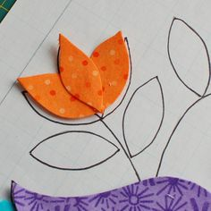 How to put an applique flower together Applique Fabric, Hand Applique, Sewing Appliques, Embroidery Applique, Applique Tutorial, Applique Templates, Applique Designs, Flower Applique Patterns, Owl Templates
