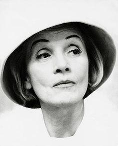 Marlene Dietrich, en 1960, en una imagen tomada por Liselotte Strelow.
