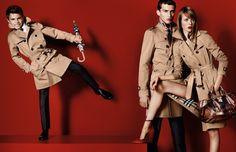Burberry ad campaign spring summer 2013 / photographed by Mario Testino with the young model romeo beckham via arcstreet.com