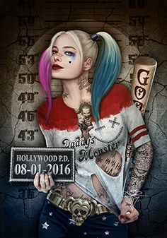 30 Harley Quinn Pin Up Tattoo-harley quinn, harley quinn a call to arms, harley … Harley Quinn Tattoo, Harley Quinn Drawing, Joker Und Harley Quinn, Dark Disney, Disney Art, Mädchen Tattoo, Joker Wallpapers, Joker Art, Twisted Disney