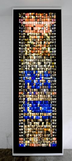 Framing Time and Place Mikhael Subotzky, South African, born 1981, Patrick Waterhouse, British, born 1981, Doors, Ponte City, Johannesburg, 2008–2010, light box with color transparency, 388 × 128.4 × 15.24 cm (152 ¾ × 50 ½ × 6 in.)