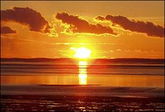 another truly beautiful morecambe sunset