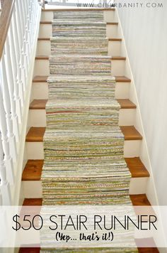 Exceptional Staircase Runner For Under $50