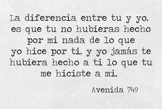 La diferencia!!!