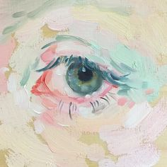 """2,671 Likes, 14 Comments - Shanna Van Maurik (@nogobed) on Instagram: """"Lil from 2016 #oilpaint #eyestudy"""""""