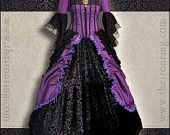 Made to order  fantasy victorian renaissance marie antoniette gothic dress, custom made