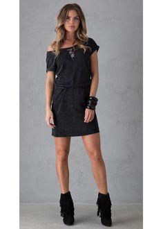 47c7fb08a39d Garcia Jeans - Summer 2017 · Kjole sort C70087 Ladies Dress - 60 black