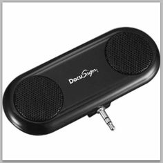 DocuSign Slimline Speaker We help businesses and #startups source unique products. Get inspired at TrimsUnlimited.com #promotional #items #corporate #swag #branded #gifts