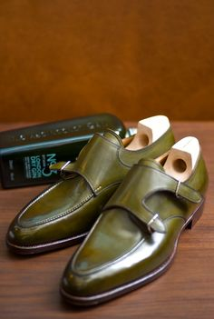 Saint Crispin's Shoes in Avacado GT