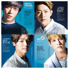CNBlue on CanCam Magazine June 2015 Issue