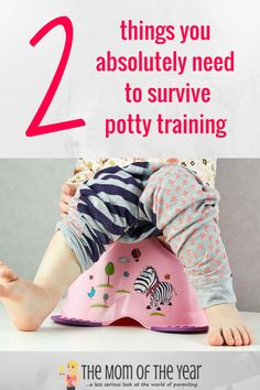 Ready to pull your hair out over potty training? Snag this REAL parent's potty training survival guide and you WILL get through this, I promise! Plus this nifty trick to clean up the mess will make your life so much easier! AD @clorox
