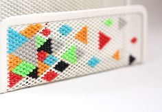 Craft Tutorial: Cross-Stitched Letter Sorter