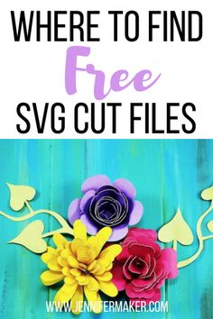 Free SVG Cut Files L