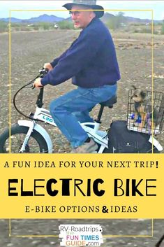 PACK AN E-BIKE WHEN YOU TRAVEL!... See why an E-Bike is a good thing to take along when you travel -- especially a folding ebike. Plus, tips to help you choose the best electric bike as a travel accessory. #familytravel #vacation