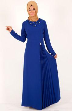Kışlık tesettür elbise modelleri - http://www.modelleri.mobi/kislik-tesettur-elbise-modelleri/