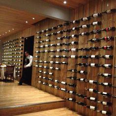Wine wall...