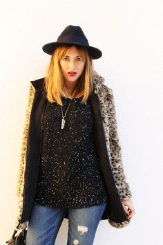 Leopard and sequins   toks #kissmylook